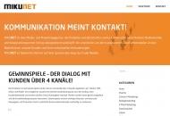 Bild Webseite MIKUNET Hamburg