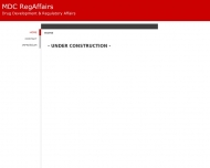 Bild Webseite MDC RegAffairs Köln