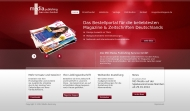 Bild Webseite MD Media Publishing Service Hamburg