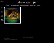 Bild Webseite phenometex Cadolzburg