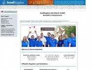 Website Radurlaub Zeitreisen