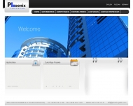 Bild Webseite Phoenix Construction München