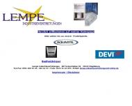 Bild Webseite Rainer Lempe Industrievertretung Magdeburg