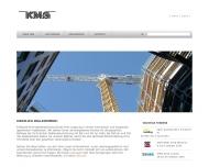 Bild Webseite KMG Ingenieurgesellschaft f. Gebäude- u. Versorgung technik KLÖCKER METTERNICH Köln