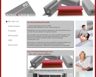 Bild Webseite RS-Schaumstofftechnik Bergkirchen