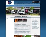 Bild Webseite RTC Spedition und Logistik Berlin