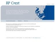 Bild Webseite RP Crest München
