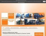 Bild Webseite Ruhland und Partner Nürnberg