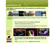 Bild Fahrradtaxi Pedalotours GmbH