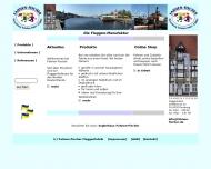 Bild Webseite Fahnen-Fischer Ernst Fischer Flensburg