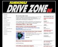 Bild Webseite Fahrschule Drive Zone Cadolzburg