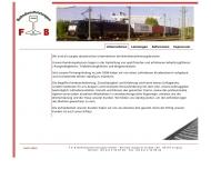 Bild Webseite F & B Bahndienstleistungen Leipzig