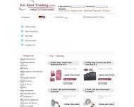 Bild Webseite Fareast Trading Köln