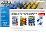Bild Webseite EUROROLL Verwaltung Ascheberg