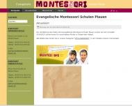 Bild Evangelischer Montessori-Schulverein Plauen e.V.