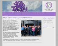 Bild Webseite J. Sigel & Sohn Heilbronn