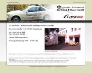 Bild Webseite TE Autoteile-Reifenhandel Riethig & Fölsner Magdeburg