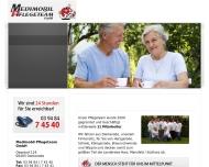Website Medimobil Pflegeteam