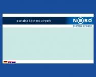 Bild Webseite NIEBO Düsseldorf