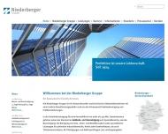 Bild Webseite NIEDERBERGER Gruppe Verwaltungs Köln