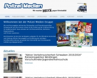 Bild Webseite Polizei Medien PM UG Nürnberg