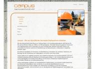 Bild Webseite campus Ingenieurgesellschaft München