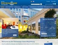 Bild Webseite Ratswaage-Service Magdeburg