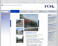 Bild Webseite Pohl Management Verwaltung Köln