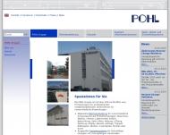 Bild Webseite Pohl Vermögens-Verwaltung Köln