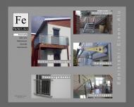 Bild Webseite Fe Metallbau Dipperz