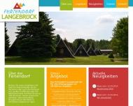 Bild Webseite Feriendorf Langebrück Dresden