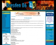 Bild Webseite FV Dresden 06 Laubegast Dresden