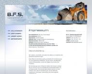 Website BFS Ingenieurgesellschaft