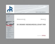 Website Dr. Brenner Ingenieurgesellschaft