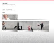 Bild Webseite Marc Jacobs Versicherungsmakler Aachen