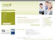 Bild Webseite meljo Network Logistics Hamburg