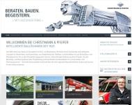 Bild Webseite P & P Hamburg