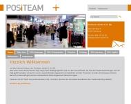 Bild Webseite Positeam Hamburg