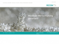 Bild RECOM Metallgesellschaft mbH