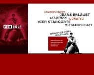 Bild Webseite Red Golf Moorfleet Hamburg