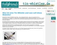 Bild Webseite Folkfriends Hamburg