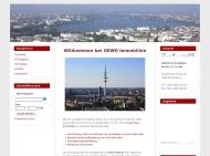 Bild Webseite GEWO-Immobilien Moritz Hamburg