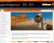 Bild Webseite Getränke-Taxi Dortmund