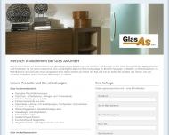 Bild Webseite Glas As Nürnberg