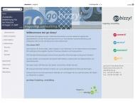 Bild Webseite go bizzy! Consulting Hamburg