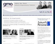 Bild gmo. Gesellschaft für Managementberatung + Outplacement mbH
