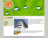 Bild Webseite GO Gareis Objektdienstleistungen Berlin