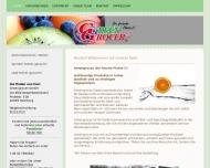 Bild Webseite Greengrocer Hamburg