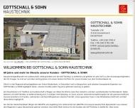Bild Webseite Gottschall & Sohn Düsseldorf