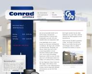 Bild Webseite Conrad Autoteile Oberhausen